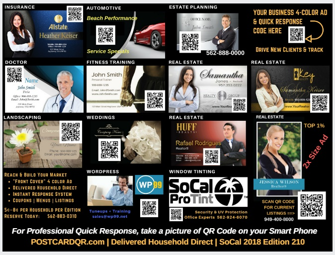 Socal Digital Agency PostcardQR
